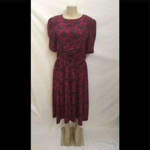 caecea15a62b Erika's Place Size 16 Animal/Paisley Print Dress